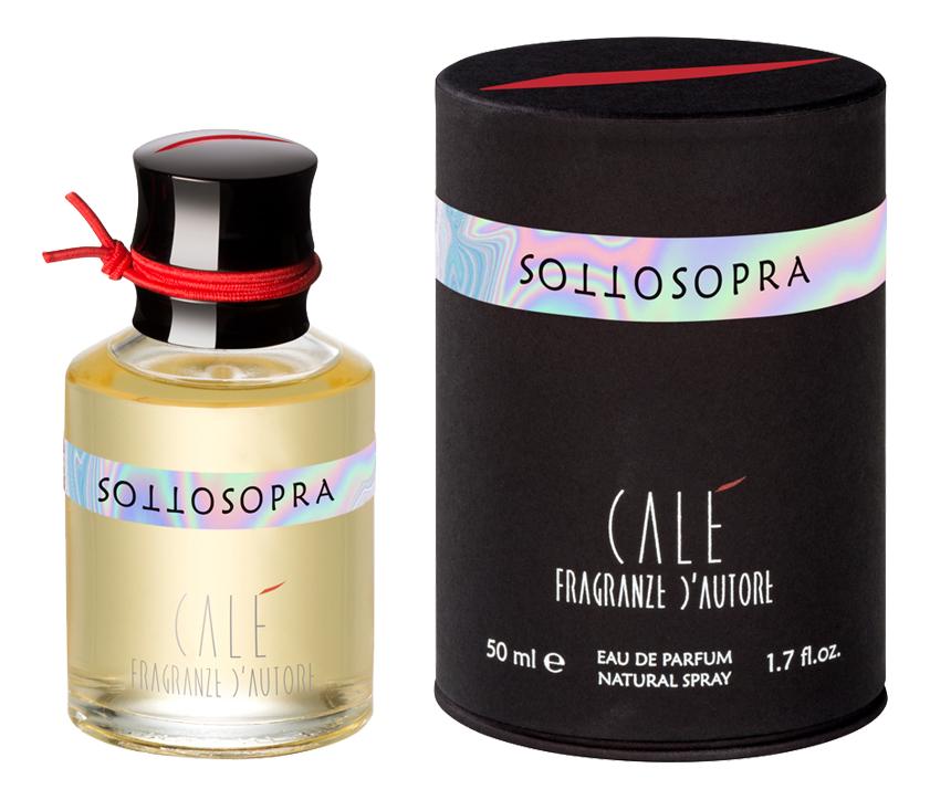 Cale Fragranze D'Autore Sottosopra: парфюмерная вода 50мл (новый дизайн)
