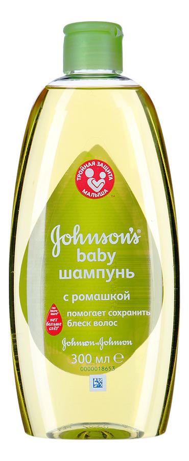 Шампунь для волос с ромашкой Johnson's Baby: Шампунь 300мл (новый дизайн) джонсонс беби шампунь с ромашкой 300мл