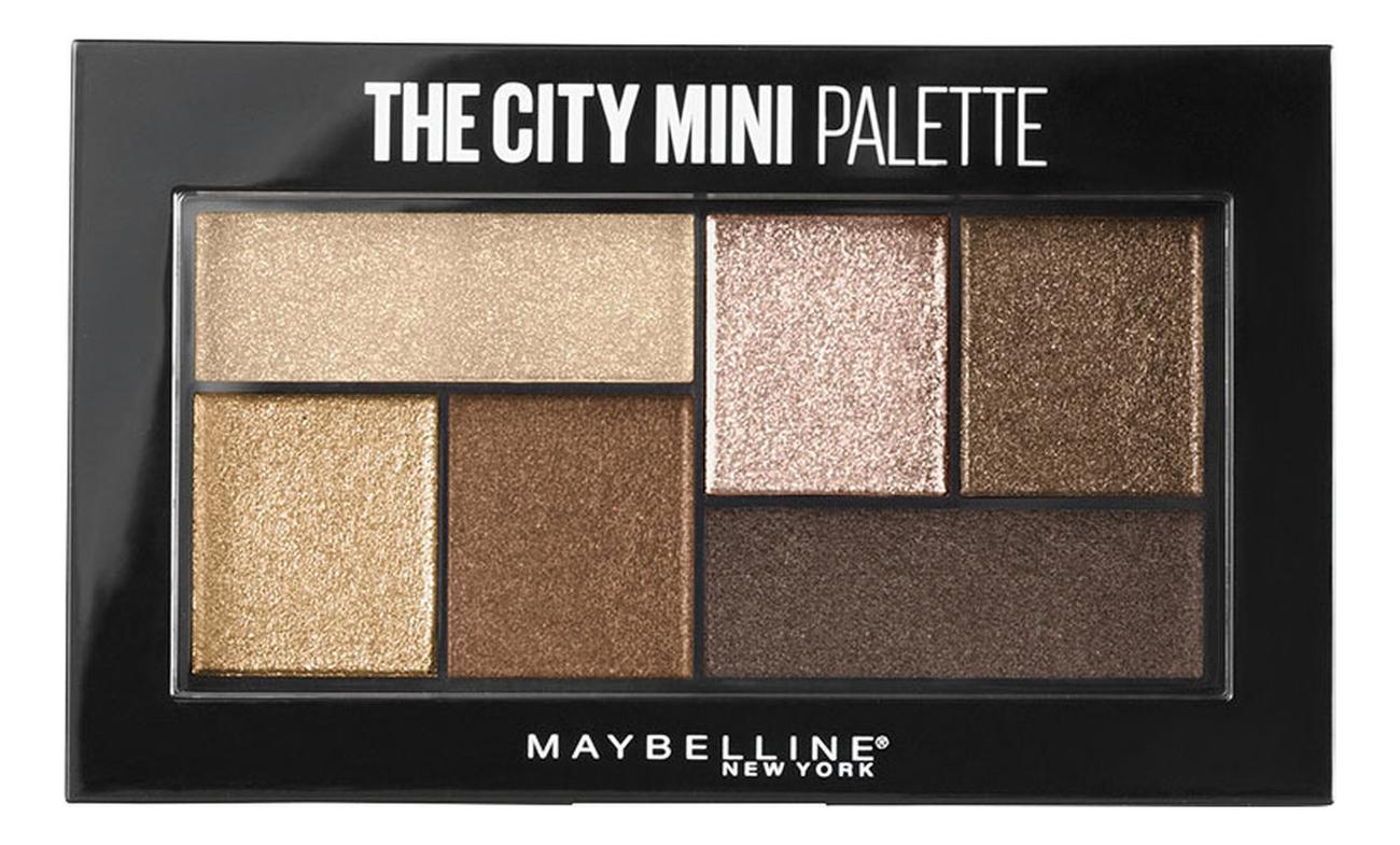 Фото - Палетка теней для век The City Mini Palette 6г: 400 Rooftop Bronzes палетка теней для век new neutral smoked palette