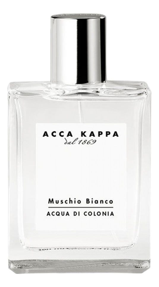 Купить Muschio Bianco Acqua Di Colonia: одеколон 30мл, Acca Kappa