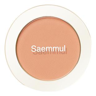 Однотонные румяна Saemmul Single Blusher 5г: CR06 Desert Peach однотонные румяна saemmul single blusher 5г rd02 dry rose