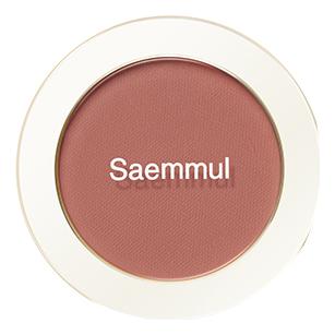 Однотонные румяна Saemmul Single Blusher 5г: RD05 Rose Ground однотонные румяна saemmul single blusher 5г rd02 dry rose