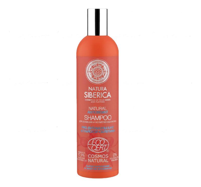 Шампунь для уставших и ослабленных волос Natural Аntioxidant 400мл цена 2017