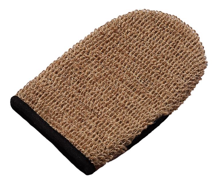 Купить Двусторонняя рукавица для душа из бамбукового полотна и джута, Zeitun