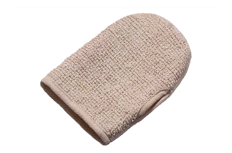 Купить Двусторонняя рукавица для душа из бамбукового полотна и рами, Zeitun