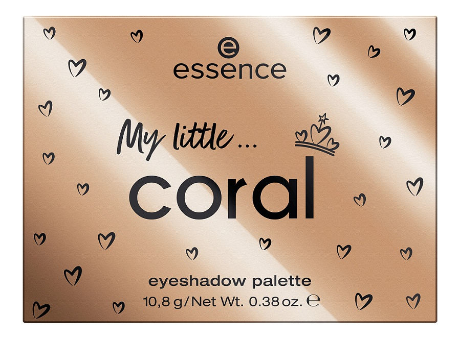 Палетка теней для век Royal Party My little Coral Eyeshadow Palette 10,8г