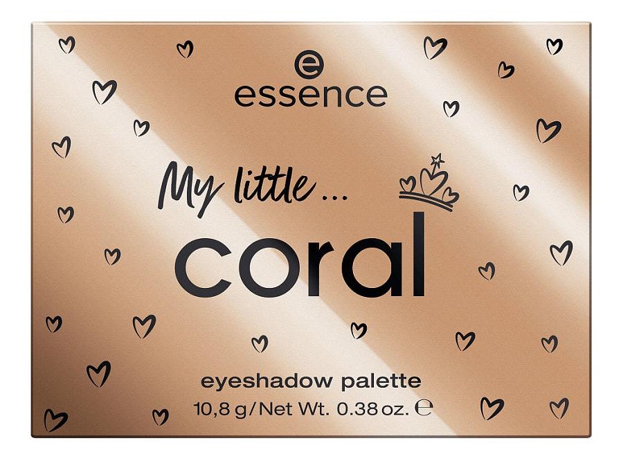 Палетка теней для век Royal Party My little Coral Eyeshadow Palette 10,8г