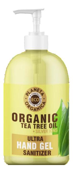 Универсальный гель для рук Eco Organic Tea Tree Oil Ultra Sanitizen Hand Gel 300мл
