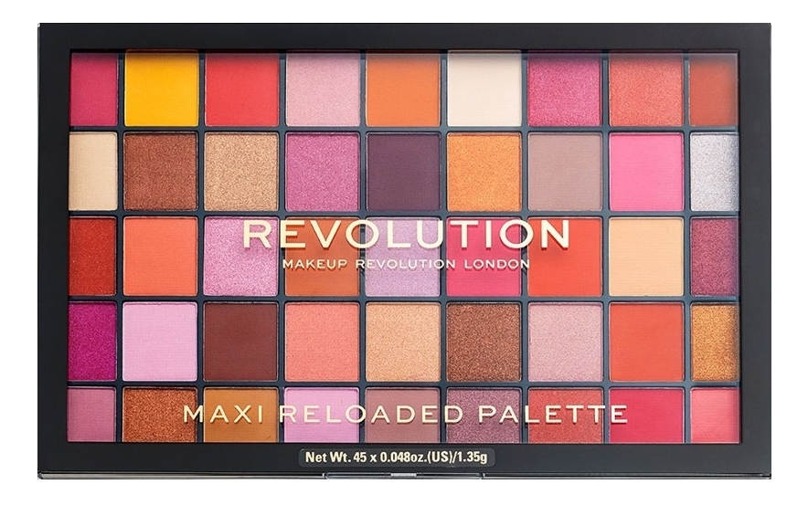 Палетка теней для век Maxi Reloaded Eyeshadow Palette: Big Love