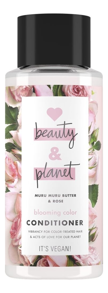 Купить Кондиционер для волос Масло мурумуру и роза Muru Muru Butter & Rose Conditioner 400мл, Кондиционер для волос Масло мурумуру и роза Muru Muru Butter & Rose Conditioner 400мл, Love Beauty & Planet