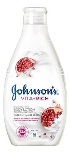 Лосьон для тела с экстрактом цветка граната Johnson's Vita-Rich Brightening Body Lotion 250мл недорого