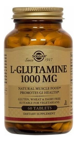 Фото - Биодобавка Глутамин L-Glutamine 1000Mg 60 таблеток biotech nutrition l glutamine 240 г