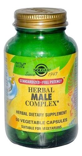 Биодобавка для мужчин Травяной комплекс Herbal Male Complex 50 капсул