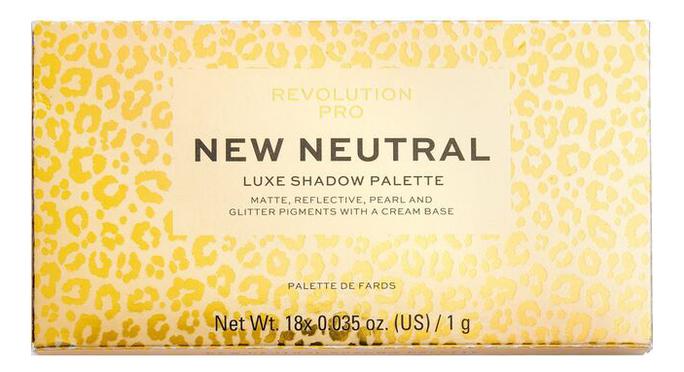 Фото - Палетка теней для век New Neutral Luxe Shadow Palette палетка теней для век new neutral smoked palette