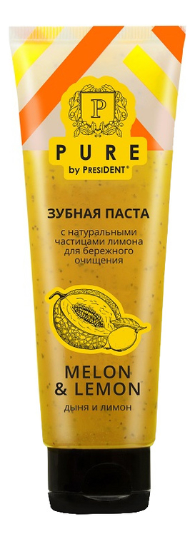 Купить Зубная паста Дыня и лимон Pure By President 100г