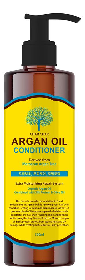 Купить Кондиционер для волос с аргановым маслом Char Char Argan Oil Conditioner: Кондиционер 500мл, Evas Cosmetics