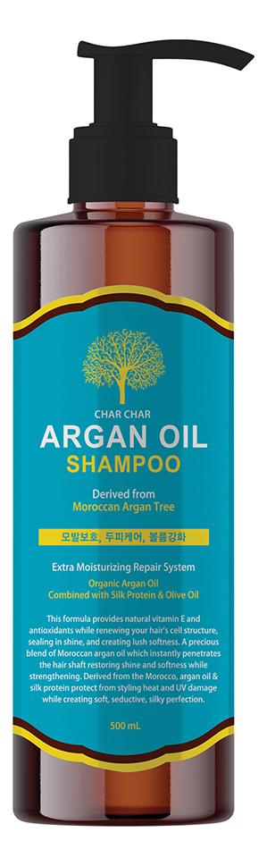 Шампунь для волос с аргановым маслом Char Char Argan Oil Shampoo: Шампунь 500мл
