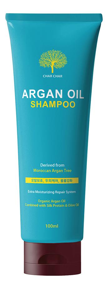 Шампунь для волос с аргановым маслом Char Char Argan Oil Shampoo: Шампунь 100мл
