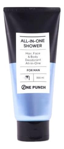 Многофункциональное очищающее средство One Punch All-In- Shower 300мл