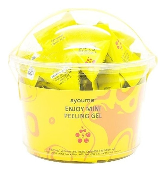 Пилинг-гель для лица на основе фруктовых кислот Enjoy Mini Peeling Gel 30*3г