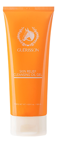 Гель для умывания с лошадиным жиром Guerisson Skin Relief Cleansing Oil Gel 120мл