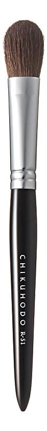 Фото - Кисть для макияжа глаз Eye Shadow Brush R-S1 (конский волос) кисть для макияжа глаз precision brush oval flat eye