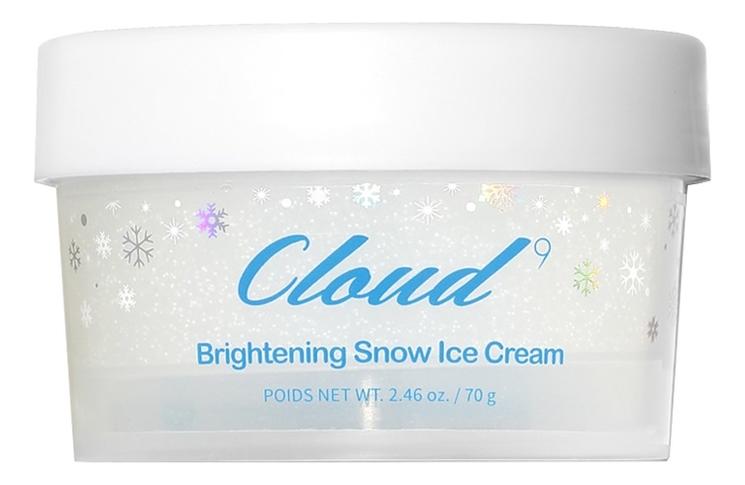Охлаждающий крем для сияния кожи лица Cloud9 Brightening Snow Ice Cream 70г