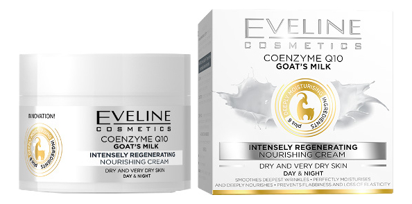 Питательный крем Глубокая Регенерация для сухой и очень сухой кожи Coenzyme Q10 Goats Milk Nourishing Cream 50мл