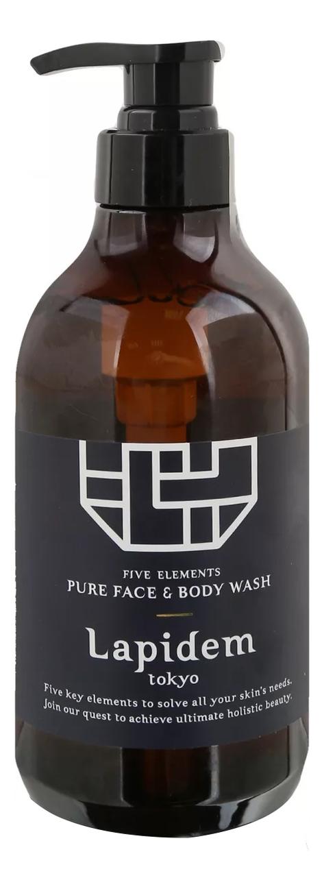 Очищающее средство для лица и тела Five Element Pure Face & Body Wash 500мл недорого