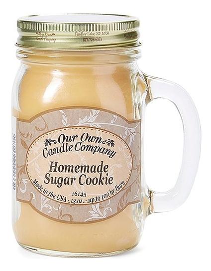 Ароматическая свеча Homemade Sugar Cookie: Свеча 370г фото