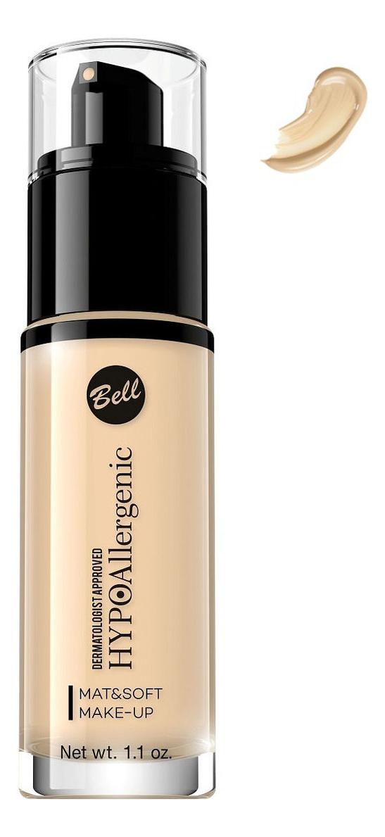 Флюид матирующий гипоаллергенный Hypoallergenic Mat & Soft Make-Up Fluid 30мл: No 1