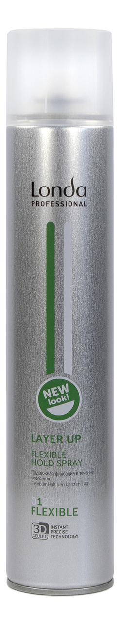 Лак для волос подвижной фиксации Layer Up Flexible Hold Spray: Лак 500мл [сэшн cпрэй флэкс] лак для укладки подвижной фиксации kevin murphy session spray flex 400 мл