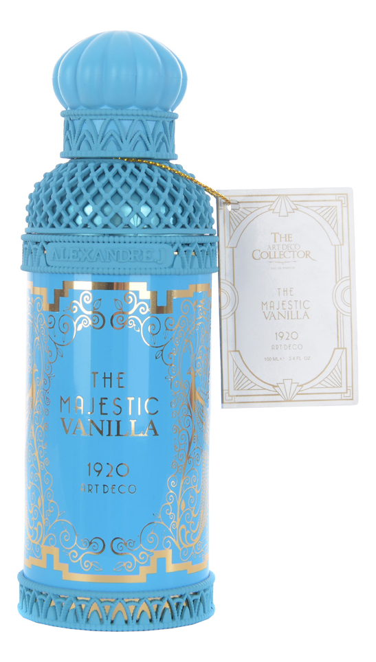 Alexandre J. The Majestic Vanilla: парфюмерная вода 100мл тестер