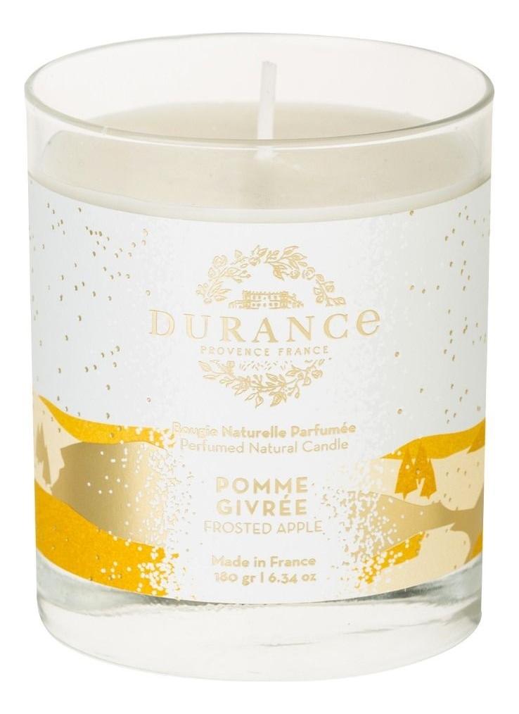 Ароматическая свеча Perfumed Natural Candle Frosted Apple 180г (морозное яблоко)