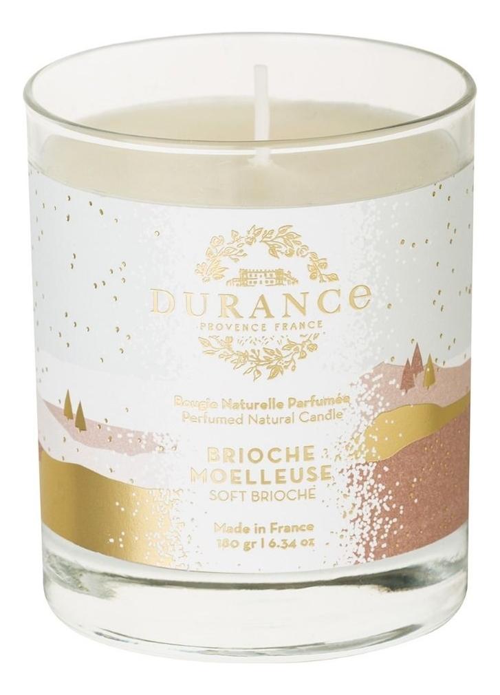 Купить Ароматическая свеча Perfumed Natural Candle Soft Brioche 180г (парижская бриошь), Durance