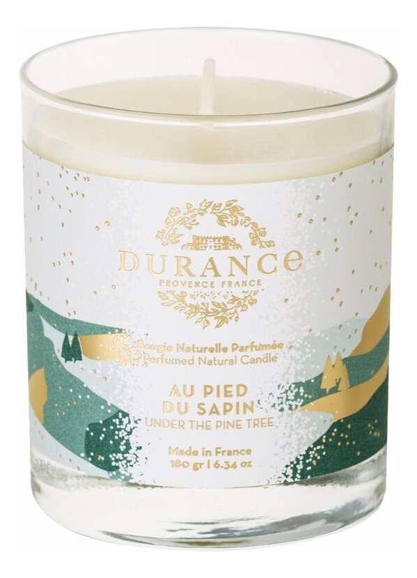 Ароматическая свеча Perfumed Natural Candle Under The Pine Tree 180г (под елью)