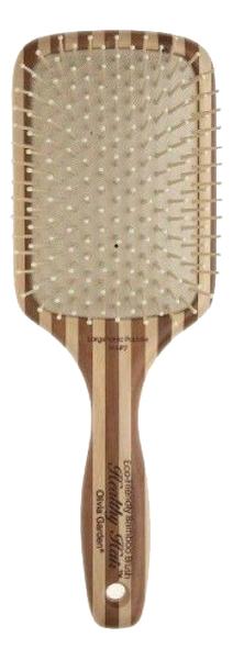 Щетка массажная для волос ион + бамбук недорого