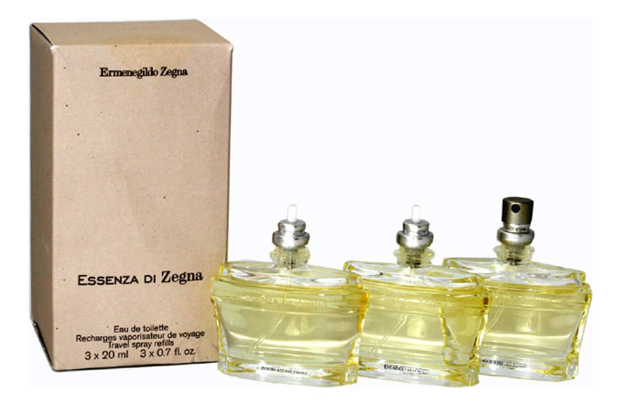 цена на Ermenegildo Zegna Essenza di Zegna: туалетная вода 3х20мл