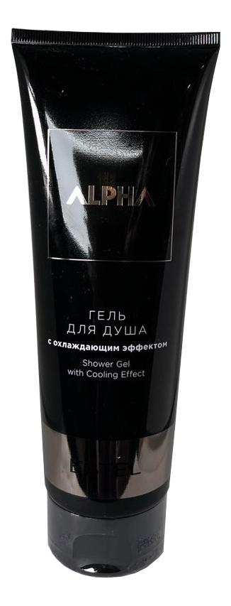 Гель для душа с охлаждающим эффектом Alpha Homme 250мл гель крем для лица alpha homme genwood hydro 50мл