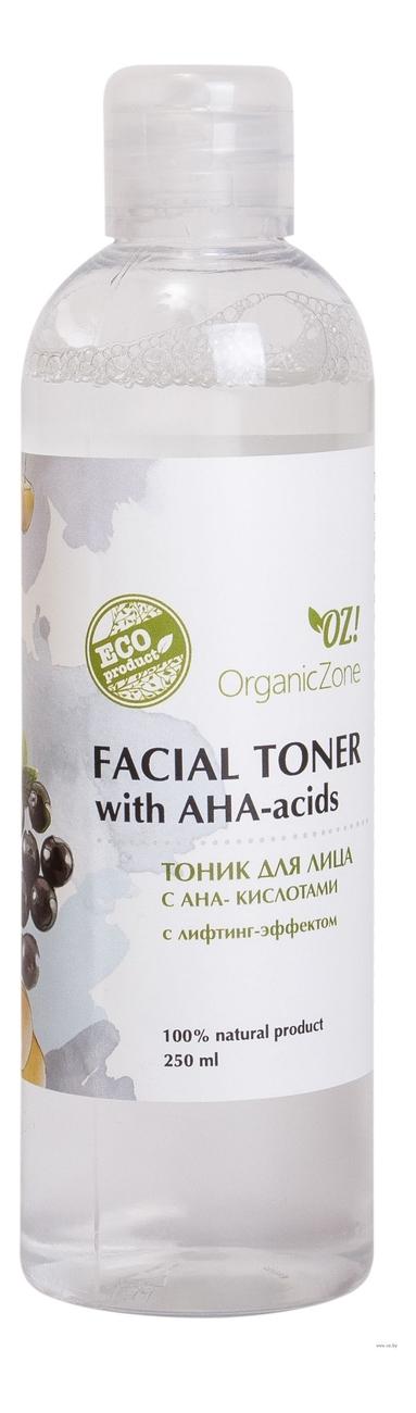Тоник для лица с лифтинг-эффектом Facial Toner AHA-Acids 250мл фото