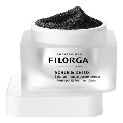 Купить Скраб-мусс для интенсивного очищения кожи Scrub & Detox Intense Purity Foam Exfoliator 50мл, Скраб-мусс для интенсивного очищения кожи Scrub & Detox Intense Purity Foam Exfoliator 50мл, Filorga