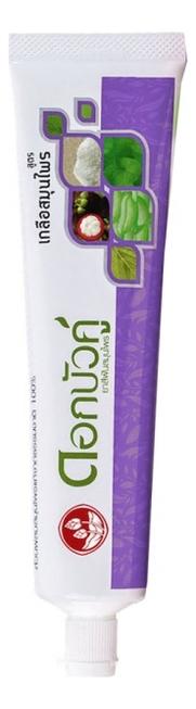 Зубная паста с травами и солью Herbal Plus Salt Toothpaste: Паста 30г зубная паста солевая weleda salt toothpaste 75 мл
