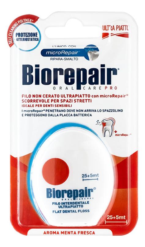 Ультра-плоская зубная нить без воска Filo Non Cerato Ultrapiatto
