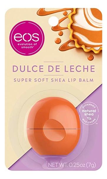 Купить Бальзам для губ Super Soft Shea Lip Balm Dulce De Leche 7г, Eos
