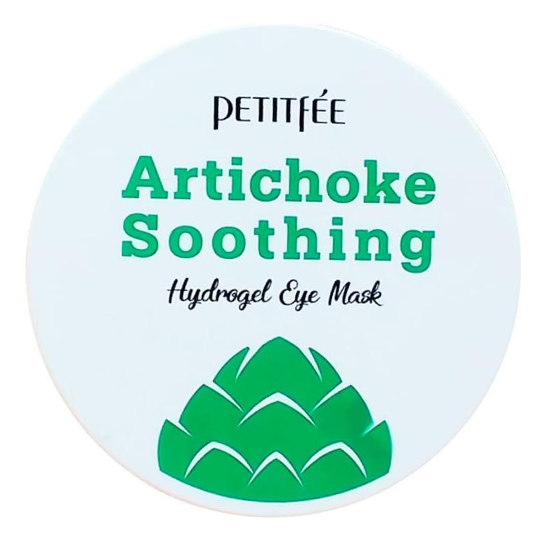 Купить Гидрогелевые патчи для кожи вокруг глаз с экстрактом артишока Artichoke Soothing Hydrogel Eye Mask 60шт, Petitfee