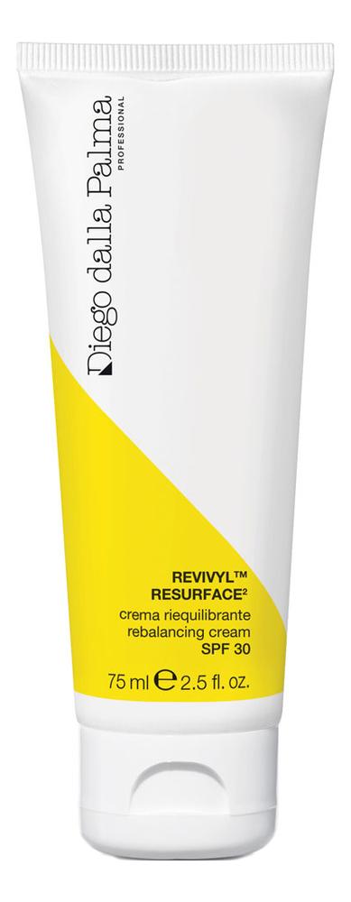 Купить Восстанавливающий крем для лица Resurface Rebalancing Cream SPF30 75мл, Diego dalla Palma