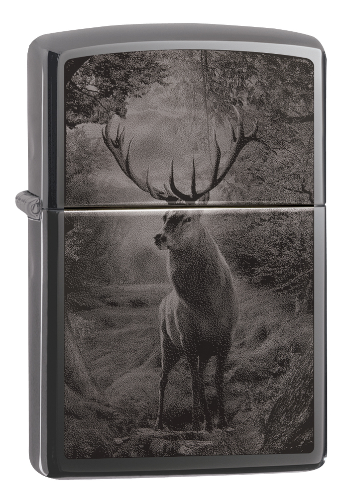 Купить Зажигалка бензиновая Classic Deer Design 49059, Zippo