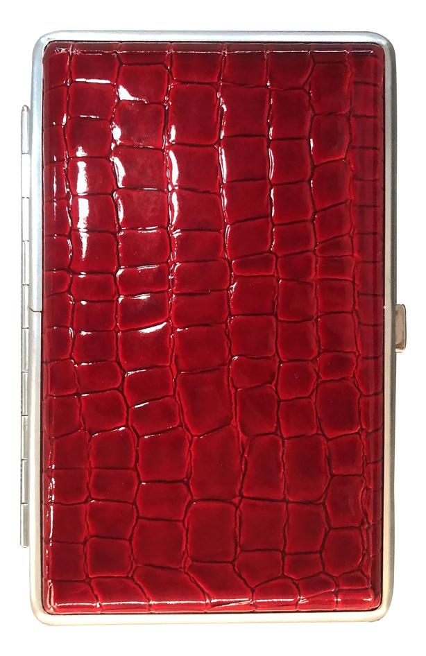 Портсигар 340023-85 (красный, с рисунком)