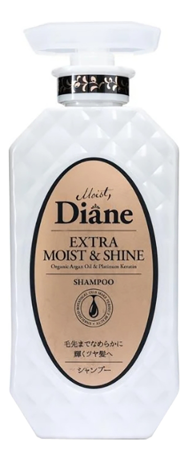 Кератиновый шампунь для волос Увлажнение Perfect Beauty Extra Moist & Shine Shampoo 450мл, Кератиновый шампунь для волос Увлажнение Perfect Beauty Extra Moist & Shine Shampoo 450мл, Moist Diane  - Купить