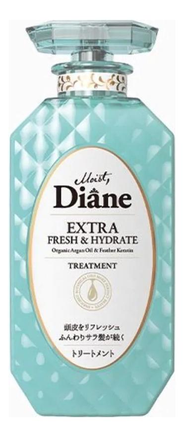 Купить Кератиновая бальзам-маска для волос Свежесть Beauty Extra Fresh & Hydrate Treatment 450мл, Кератиновая бальзам-маска для волос Свежесть Beauty Extra Fresh & Hydrate Treatment 450мл, Moist Diane